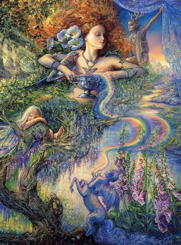 O Surrealismo transcendente de Josephine Wall 130465cf