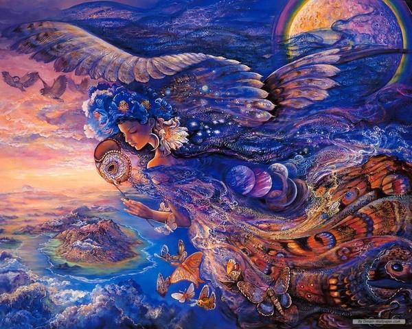 O Surrealismo transcendente de Josephine Wall 35ed602a
