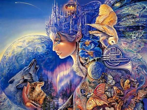 O Surrealismo transcendente de Josephine Wall 503173a3