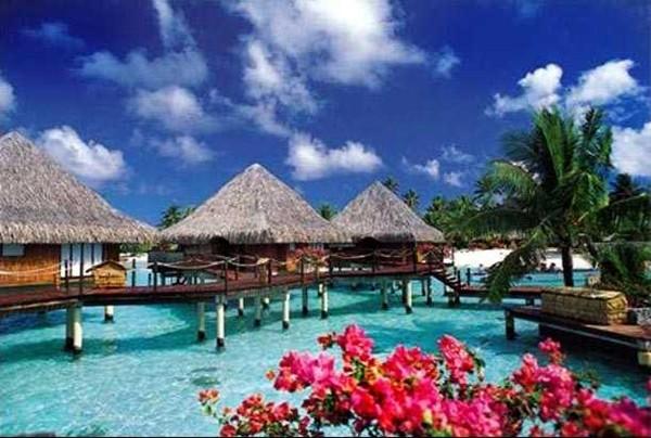 paysages de tahiti vacances arts guides voyages. Black Bedroom Furniture Sets. Home Design Ideas