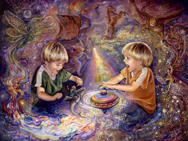 O Surrealismo transcendente de Josephine Wall B8400951
