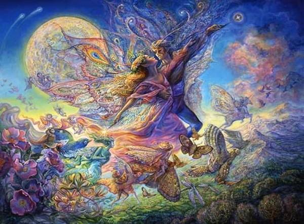 O Surrealismo transcendente de Josephine Wall Ee8ef7eb
