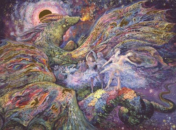 O Surrealismo transcendente de Josephine Wall F3f5277b